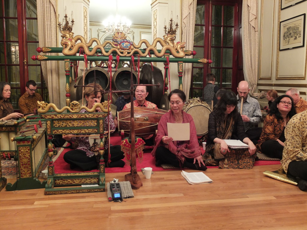 From the 2014 Winter concert at the  New York Consulate General of Indonesia.
